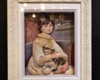 大谷郁子 猫と少女