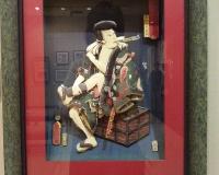 時代模筆當白波「雲切仁左衛門」 シャドーアートABキューブWEST 代表 西山 喬子