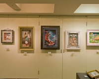 ギャラリー右壁面中央